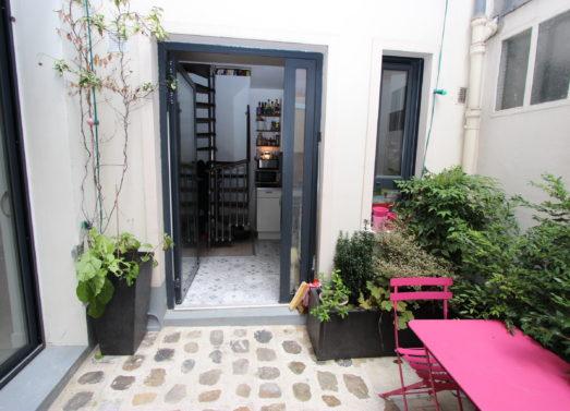 BIEN VENDU : Maison 3/4 Pièces <br /> Paris 20ème - Rue de Bagnolet <br /> 680 000 €