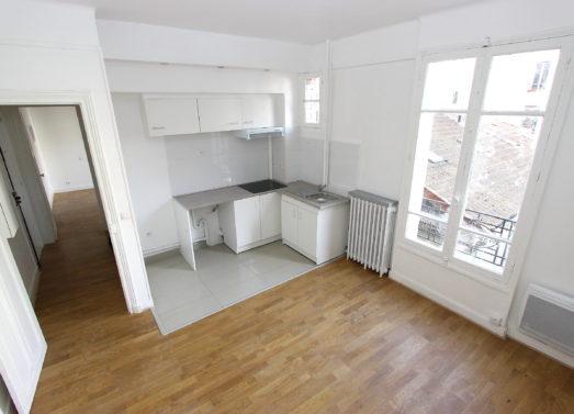 BIEN VENDU : 2 Pièces 35m² <br /> PARIS 19ème - Rue de Belleville <br /> 322 500 €