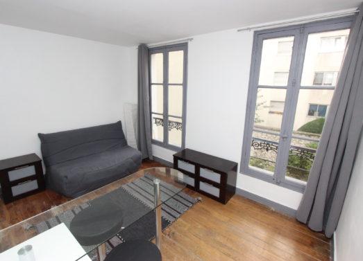 BIEN VENDU : Studio 18,44m² <br /> Paris 17ème - Quartier des Epinettes <br /> 172 000 €