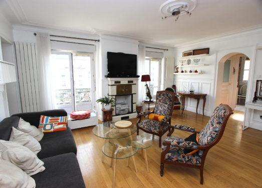 3/4 Pièces 88m² + balcon <br /> M° Saint Mandé (94) <br /> 960.000 €