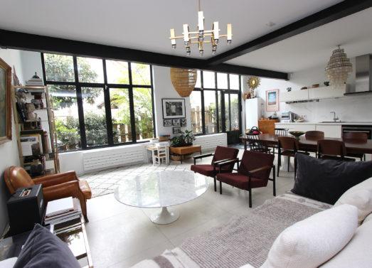 BIEN VENDU : 3 Pièces Duplex + Terrasse <br /> M° Marie des Lilas <br /> 745 .000 €