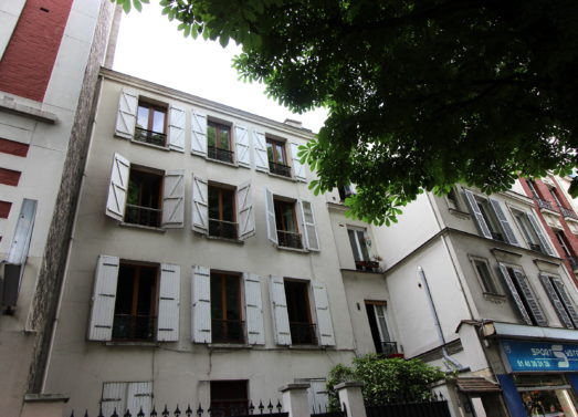 Studio 16.11m² (26.11m² surf. au sol) <br /> M° Porte de Bagnolet - Paris 20ème <br /> 195 000 €