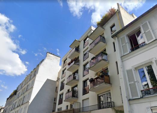 2 Pièces 45,4m² (occupé) <br /> Paris 20ème - Ménilmontant <br /> 345.000 €