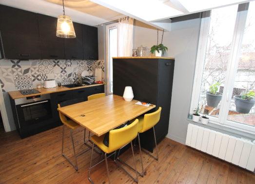 Duplex 38,56m² (24,75m² loi Carrez) <br /> Montreuil - Quartier Bas Montreuil <br /> 240.000 €