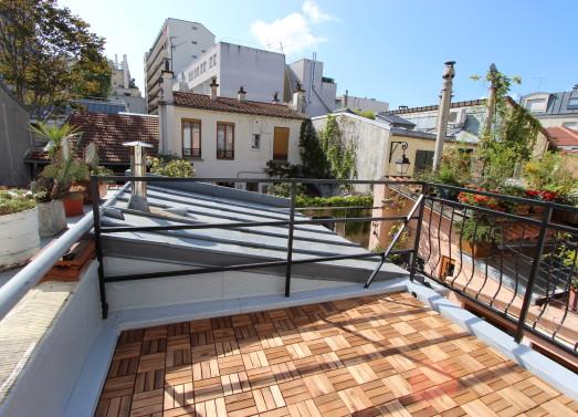 """BIEN VENDU : Maison 50m² <br /> Paris 20ème - """"La Campagne à Paris """" <br /> 429 000 €"""
